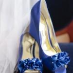My Pinterest Wedding: Blue Sparkle Wedges