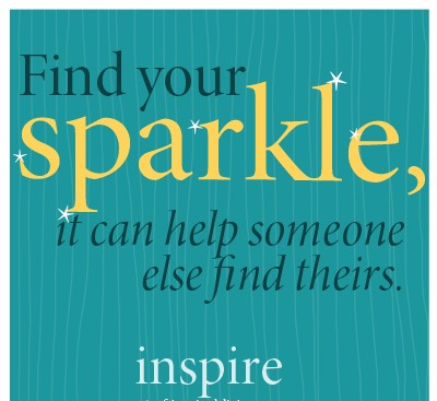 Sparkle Inspiration: Find your sparkle…