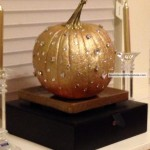 Holiday Sparkle Pumpkin