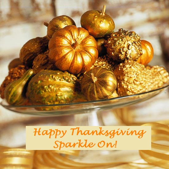 Happy Sparkle Thanksgiving