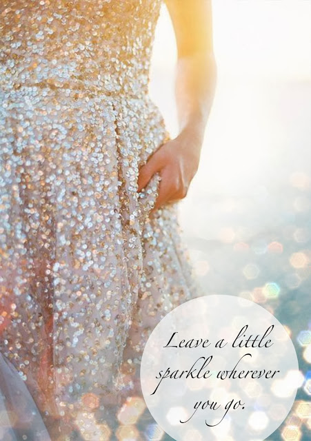 Sparkle Inspiration: Leave a Little Sparkle…