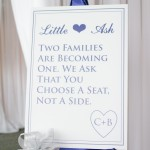 My Pinterest Wedding: Ceremony Sign