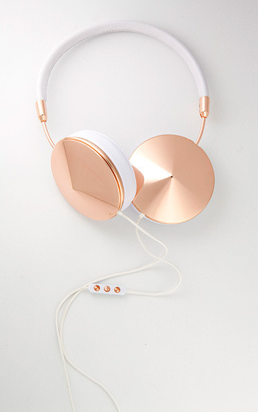 Friends Layla Rose Gold Headphones