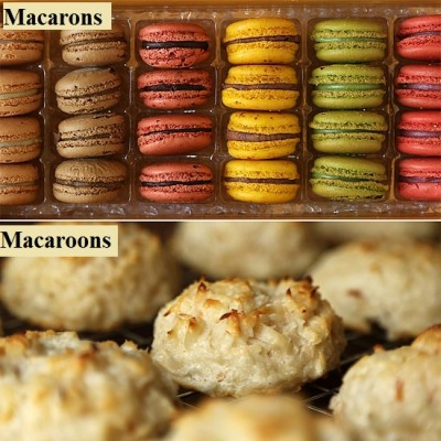 Macrons and Macaroons: What is the Difference?