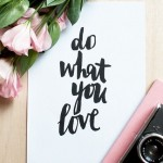 Sparkle Inspiration: Do What You Love!