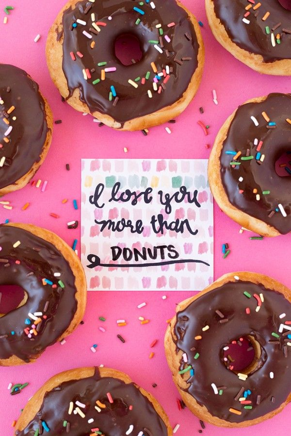 I Love You More Than Donuts