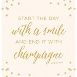 Sparkle Inspiration: Start The Day With A Smile