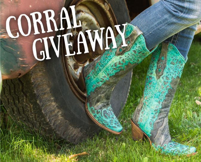Register to Win Corral Boots for Mother's Day!