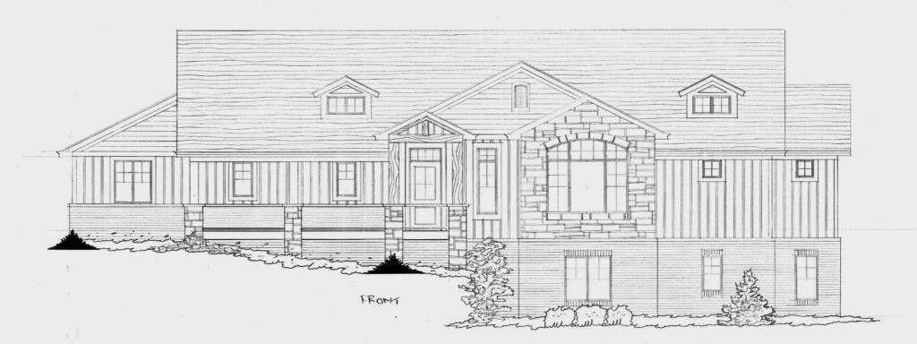 our dream home we have our exterior house plan