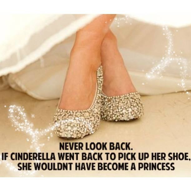 Sparkle Inspiration: Never Look Back