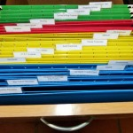 Color Coding Office Organization- Thank Goodness!